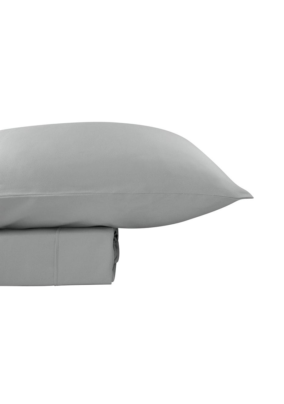 Thermal Flannel Sheet Sets - Glacier - Single Bed