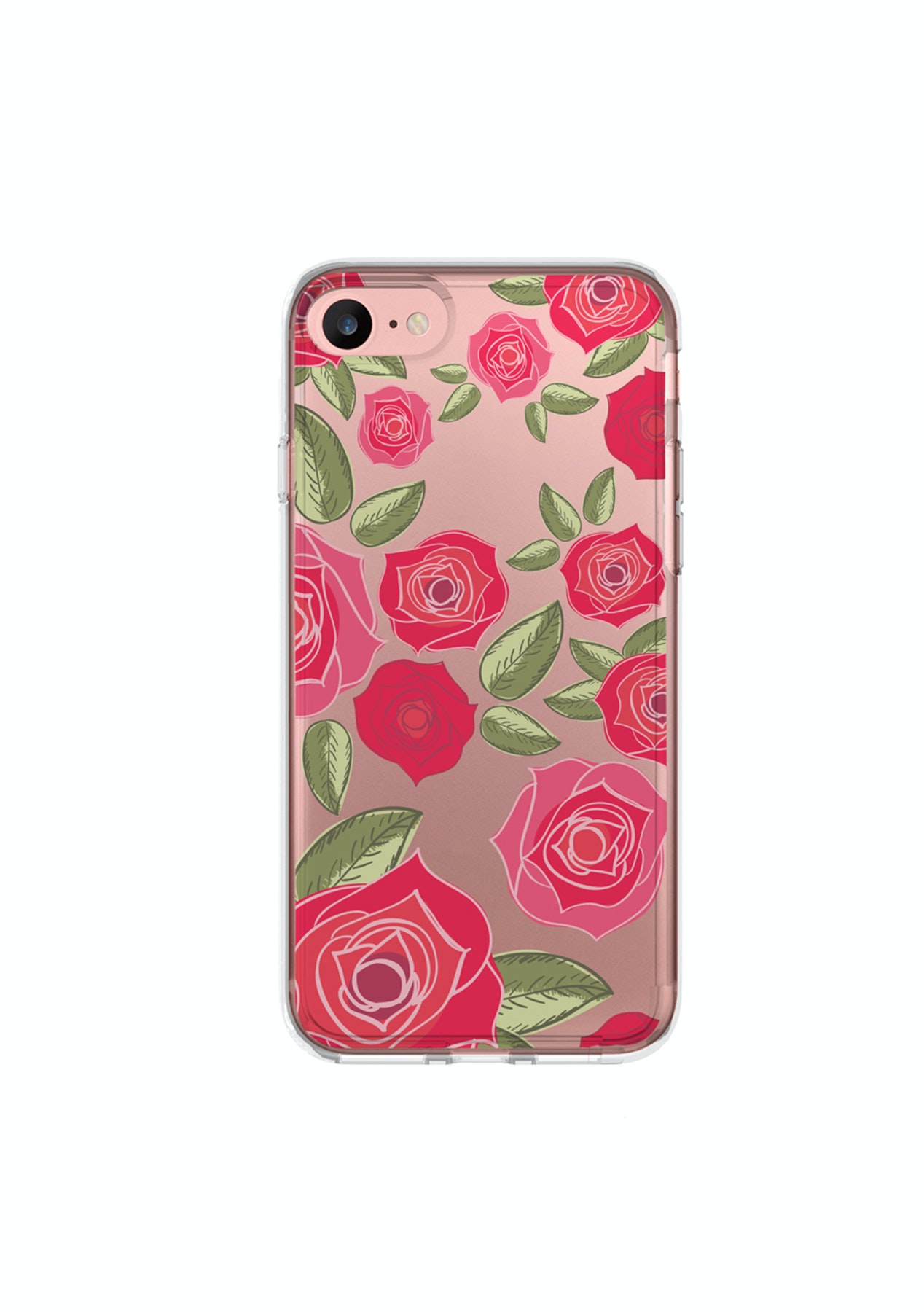 27ce14f7184 Smaak™ Mode iPhone 7 Fashion Case- Red Rose - Accessories for Apple & More  - Onceit
