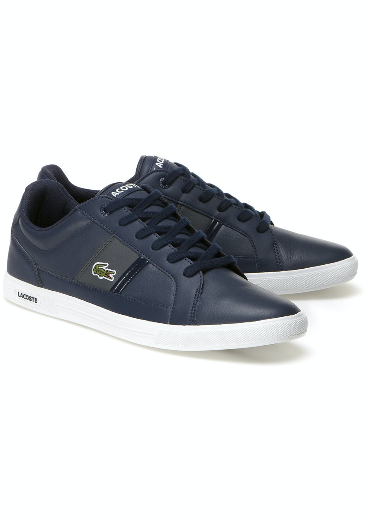 47eb5155577f7 Mens Lacoste - Europa Lcr3 Spm - Navy Dark Grey - Last Ones  Mens Shoes -  Onceit