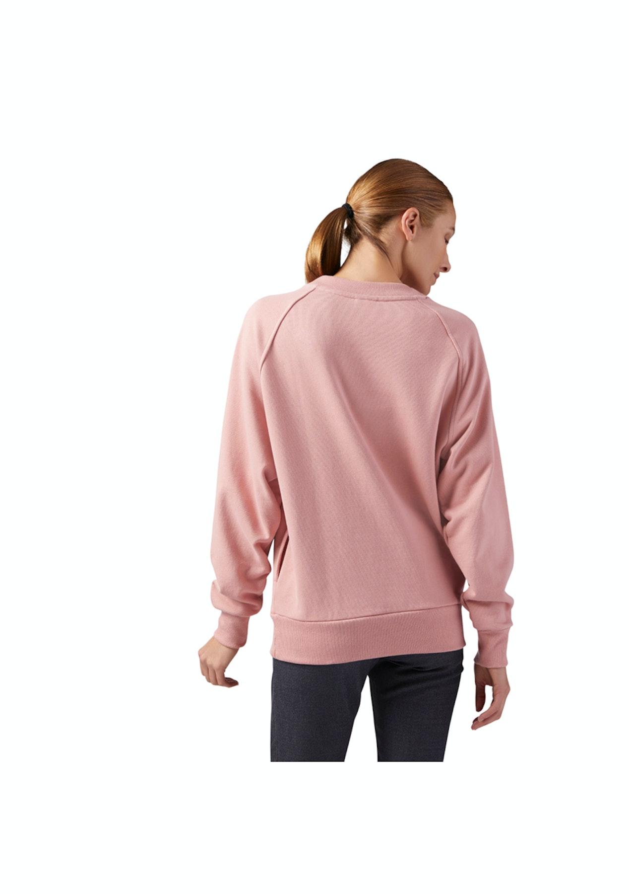 79fb3f2ed4f Reebok Womens - Lf Cotton Cover Up - Chalk Pink - Reebok - Onceit