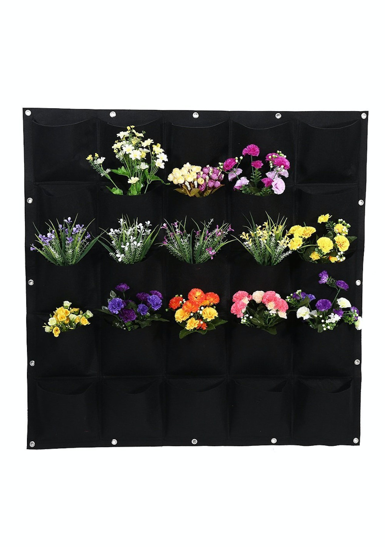 25 Pocket Wall Hanging Gardening Plant Bag The Outdoor Furniture Onceit