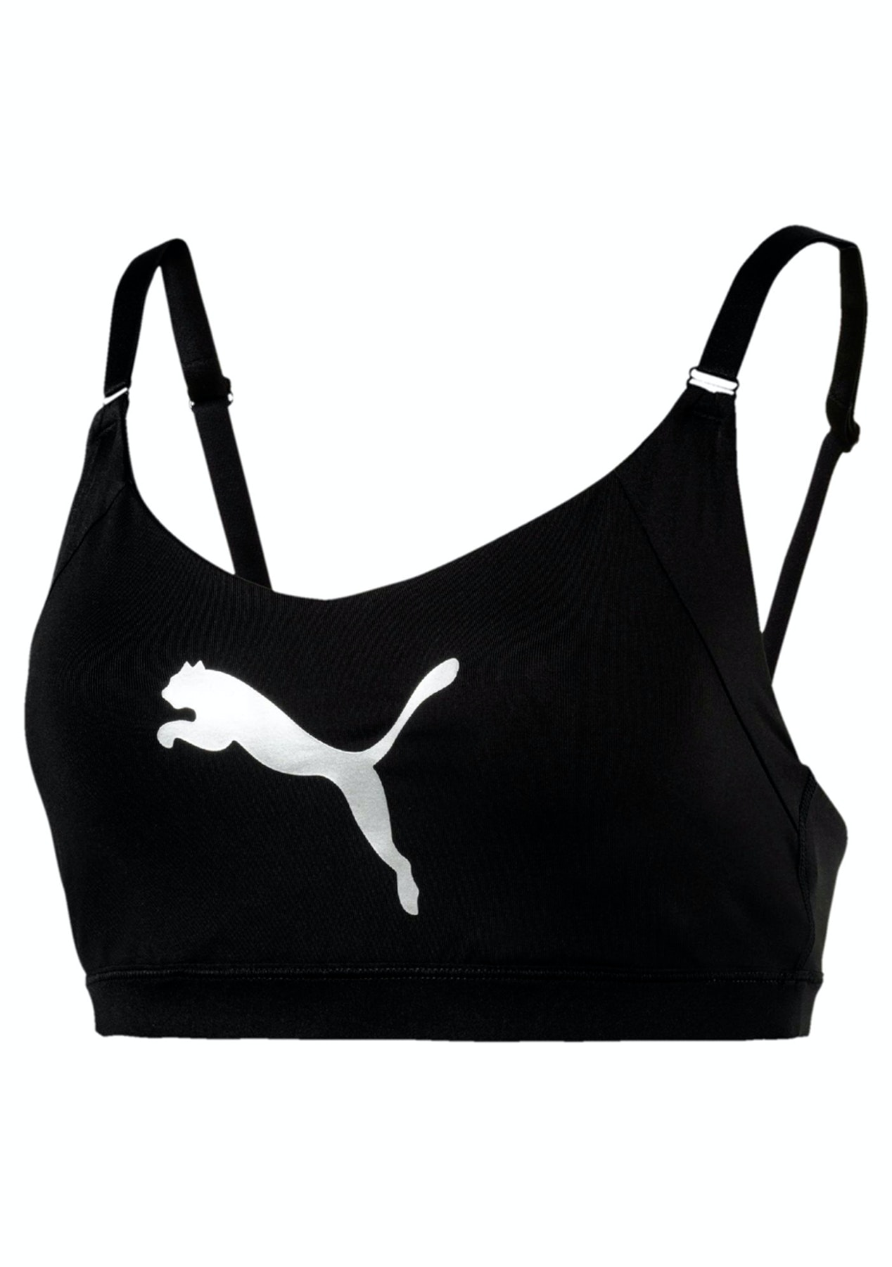 d7c3d0a7b045 Puma Womens - En Pointe Logo Bra - M Black - Puma Womens   Kids up to 63%  Off - Onceit