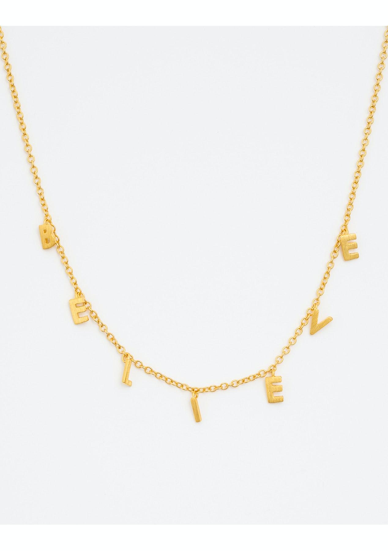 6fef2609f206 Stella + Gemma - Necklace Believe Gold - Boxing Day Stella + Gemma Under   20 Sale! - Onceit