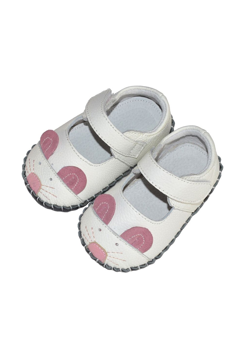 Baby  Leather Shoes - White