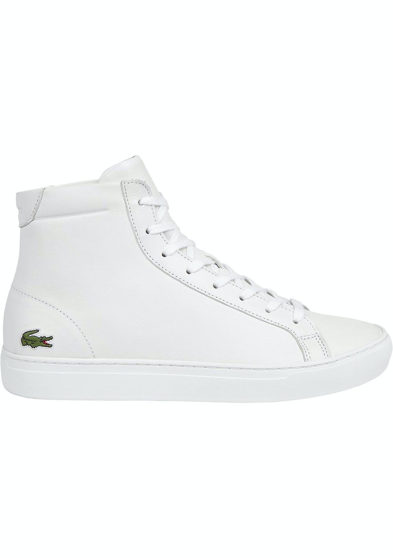 0d6d29bcf1267 Mens Lacoste - L.12.12 Mid 316 1 - White - Mens Shoe Sale - Onceit