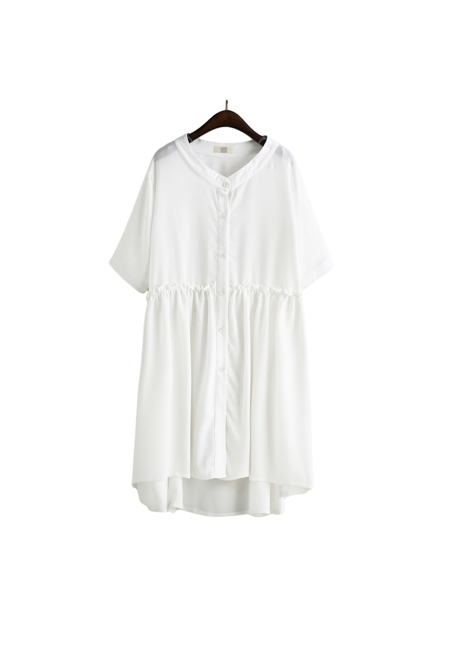 Lux Floaty Dress  - White