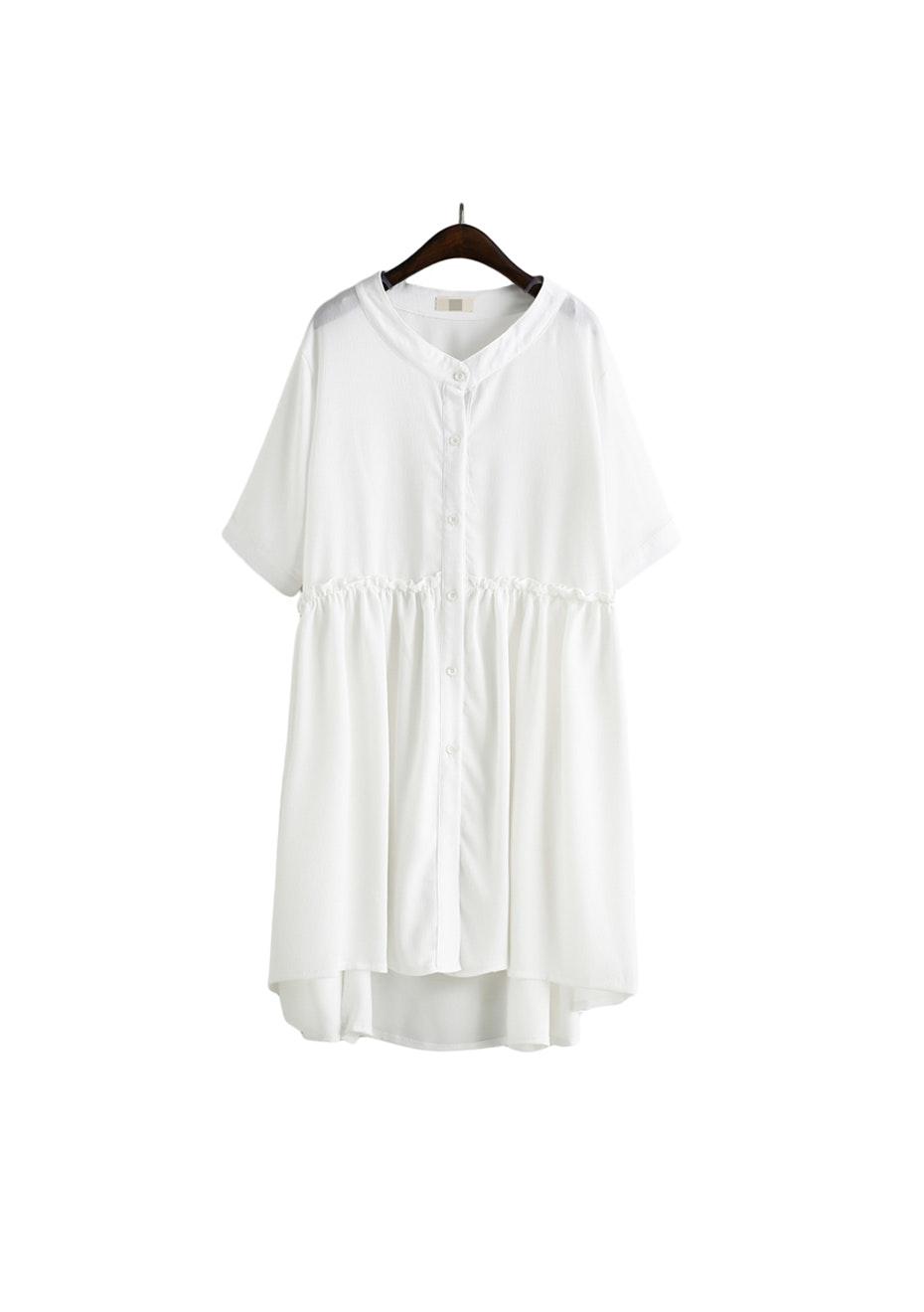 Lux Floaty Dress  - White