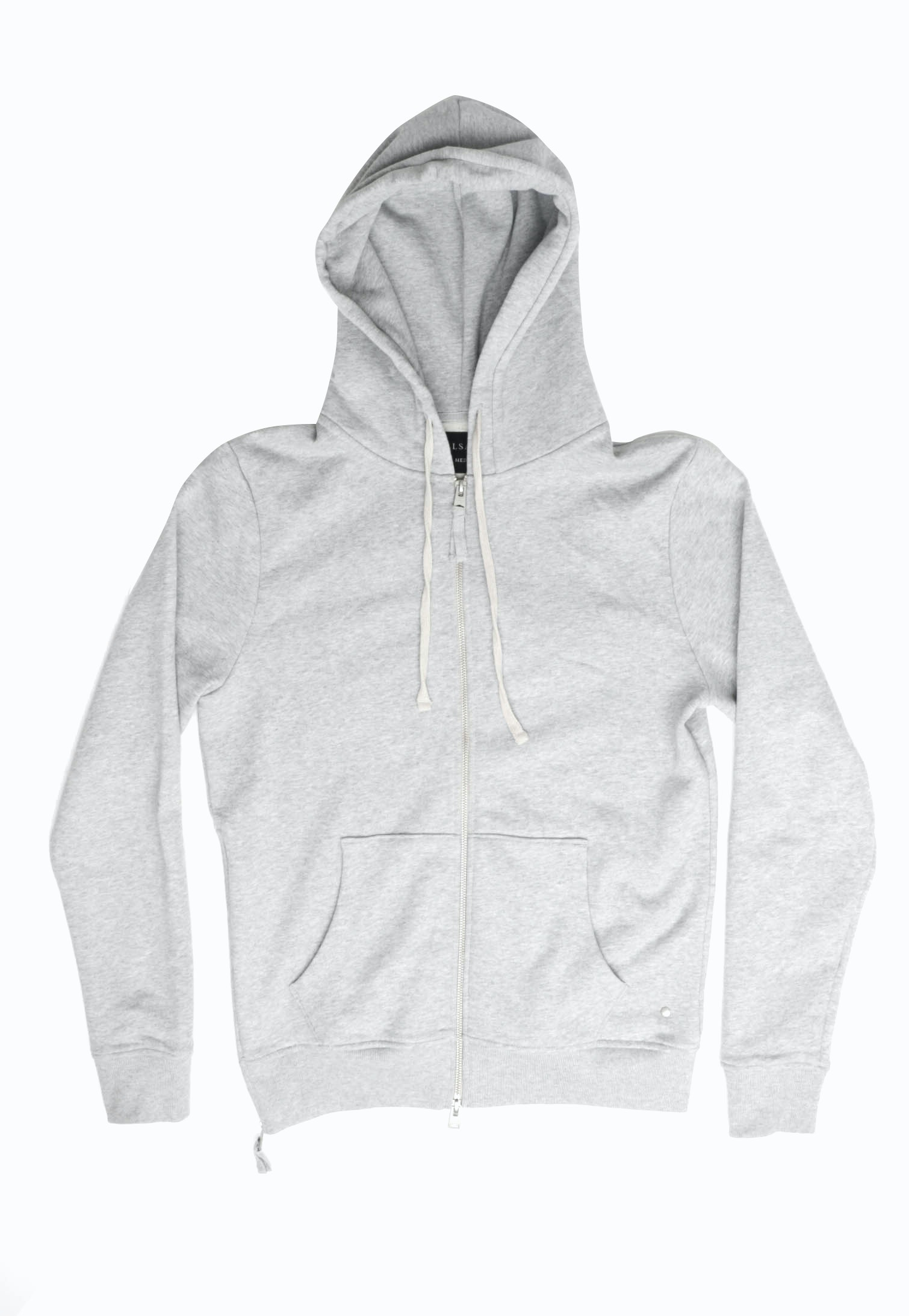 All Saints Norths Hoody - Grey Marle
