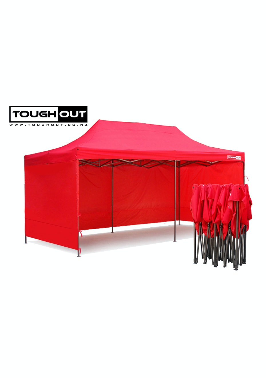 sc 1 st  Onceit & Gazebo 6mt Red with full side walls - Outdoor Furniture - Onceit