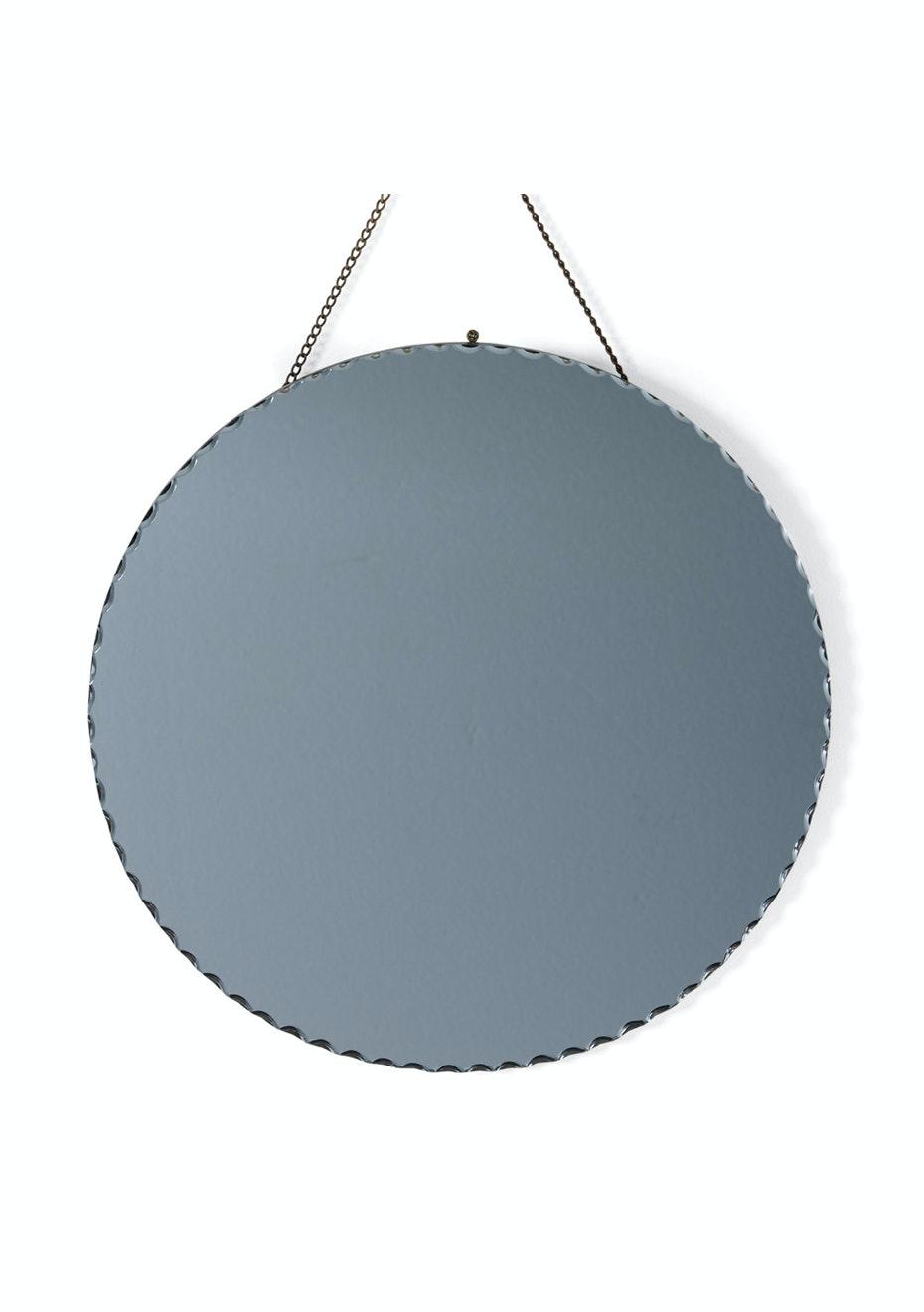 Me & My Trend - Black round tinted Mirror