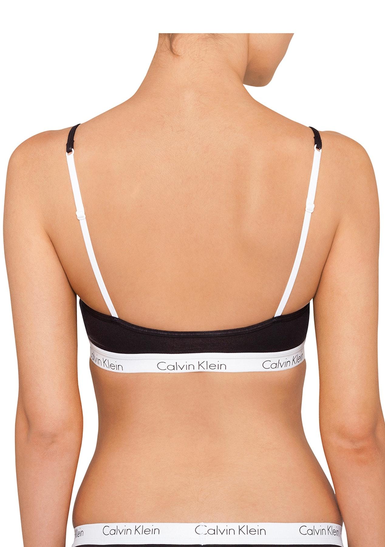484af8c842 Calvin Klein - CK One Cotton Bralette - Black - Womens Garage Sale - Onceit