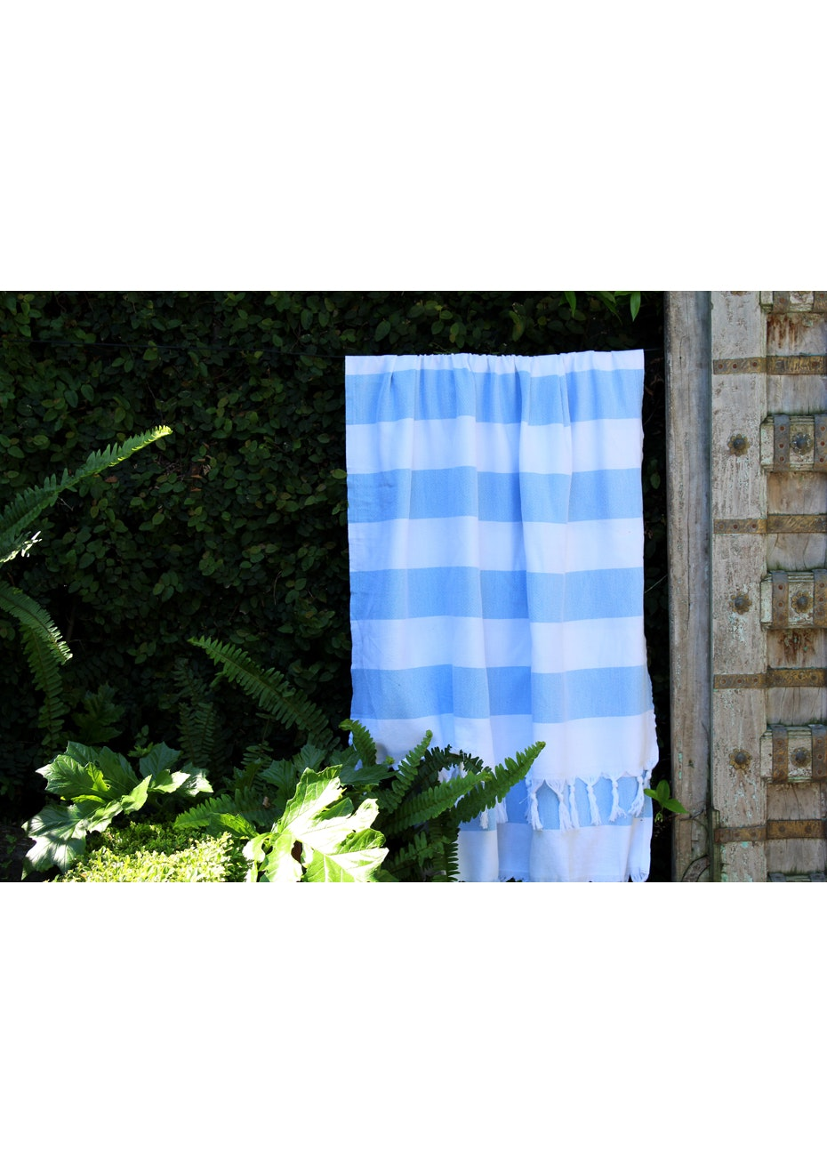 Cabana Sky Blue Turkish Towel