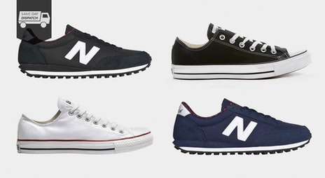 Image of the 'Last Ones: Converse & New Balance' sale