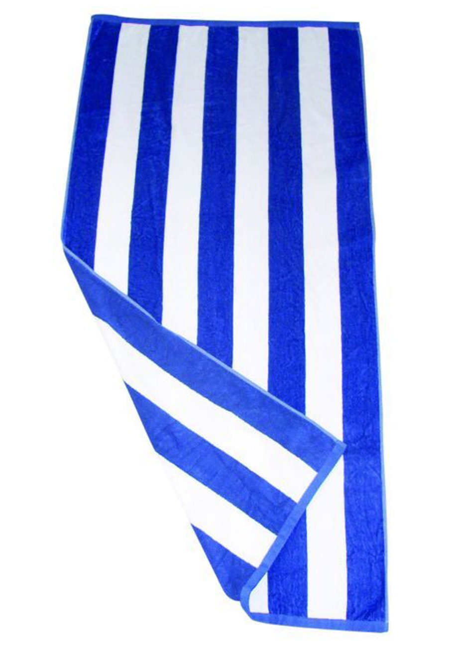 Havana Stripe Beach Towel Royal/White
