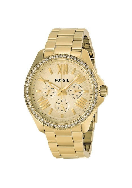 Fossil Women's Cecile - Gold Tone/Gold Tone