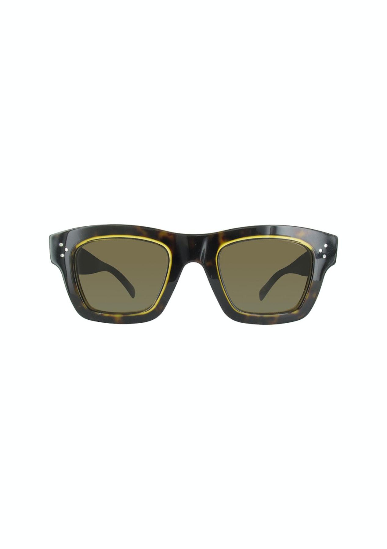 d8c622171ab8 Celine Dark Havana  Honey Sunglasses - Designer Sunglasses Sale - Onceit