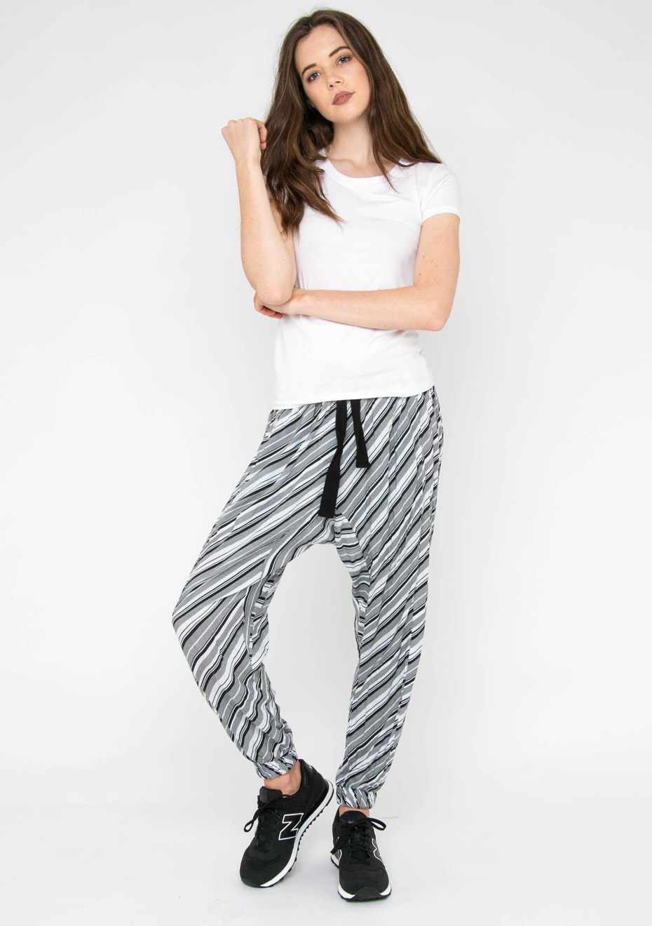 All About Eve - Clique Pant - Black & White