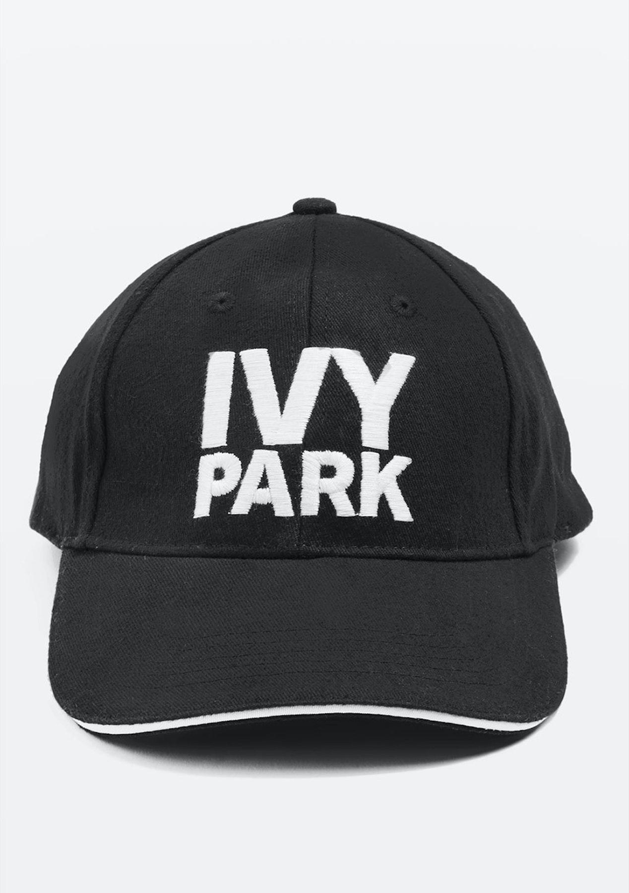 fa67a61e992 Ivy Park - Logo Baseball Cap - Black - Big Brand Activewear Sale - Onceit