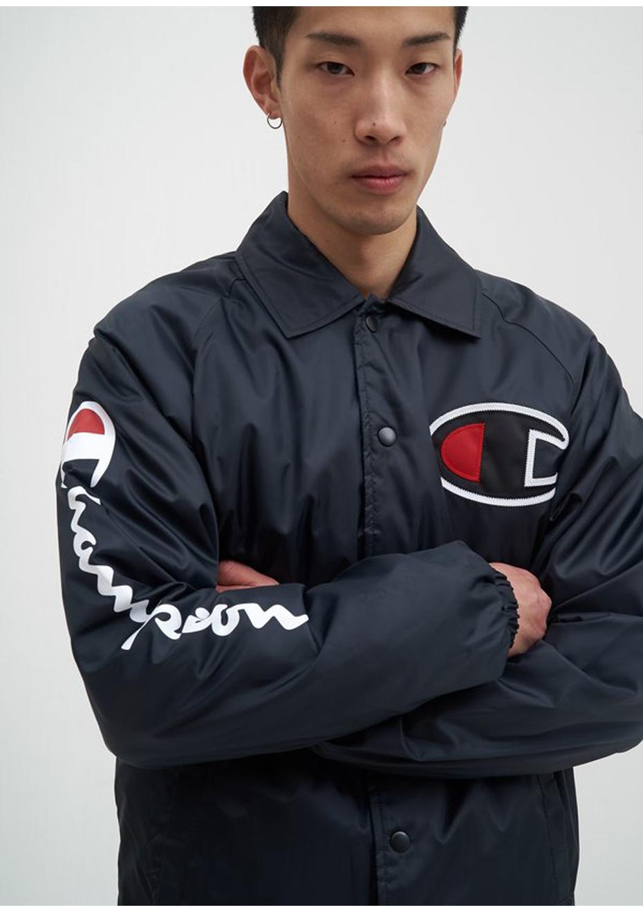 NEW Champion Mens Coaches Jacket Navy RRP $119.95
