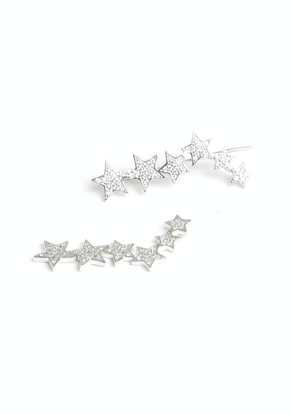 Night Sky Cuff - 925 Silver