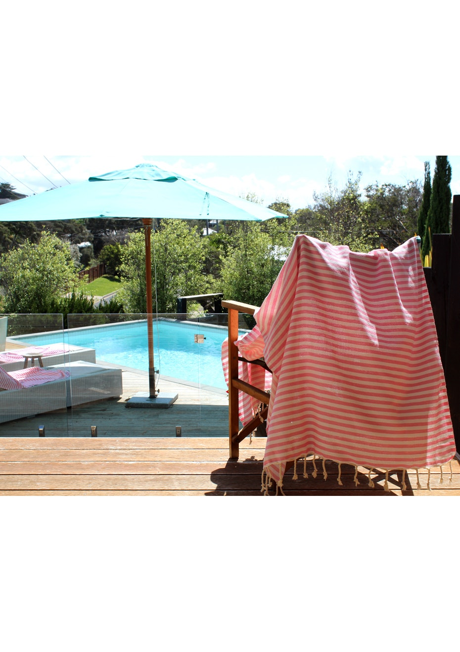 Mediterranean Light Pink Turkish Towel