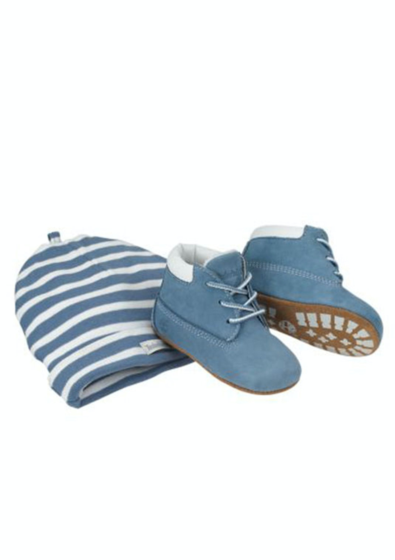 2e934152d9bd Timberland Kids - Crib Bootie With Hat - Blue - Timberland - Onceit