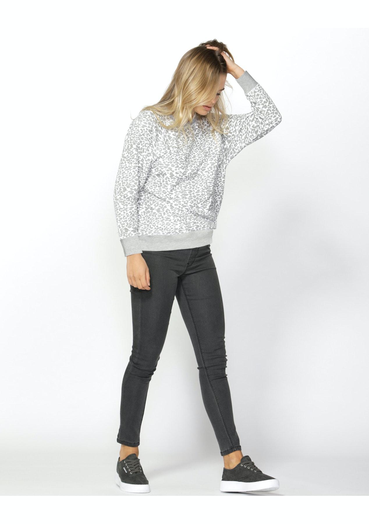 ff026c90d32d Betty Basics - Ryker Sweater - Leopard Print - Under $20 Sass, Fate & Betty  Basics - Onceit