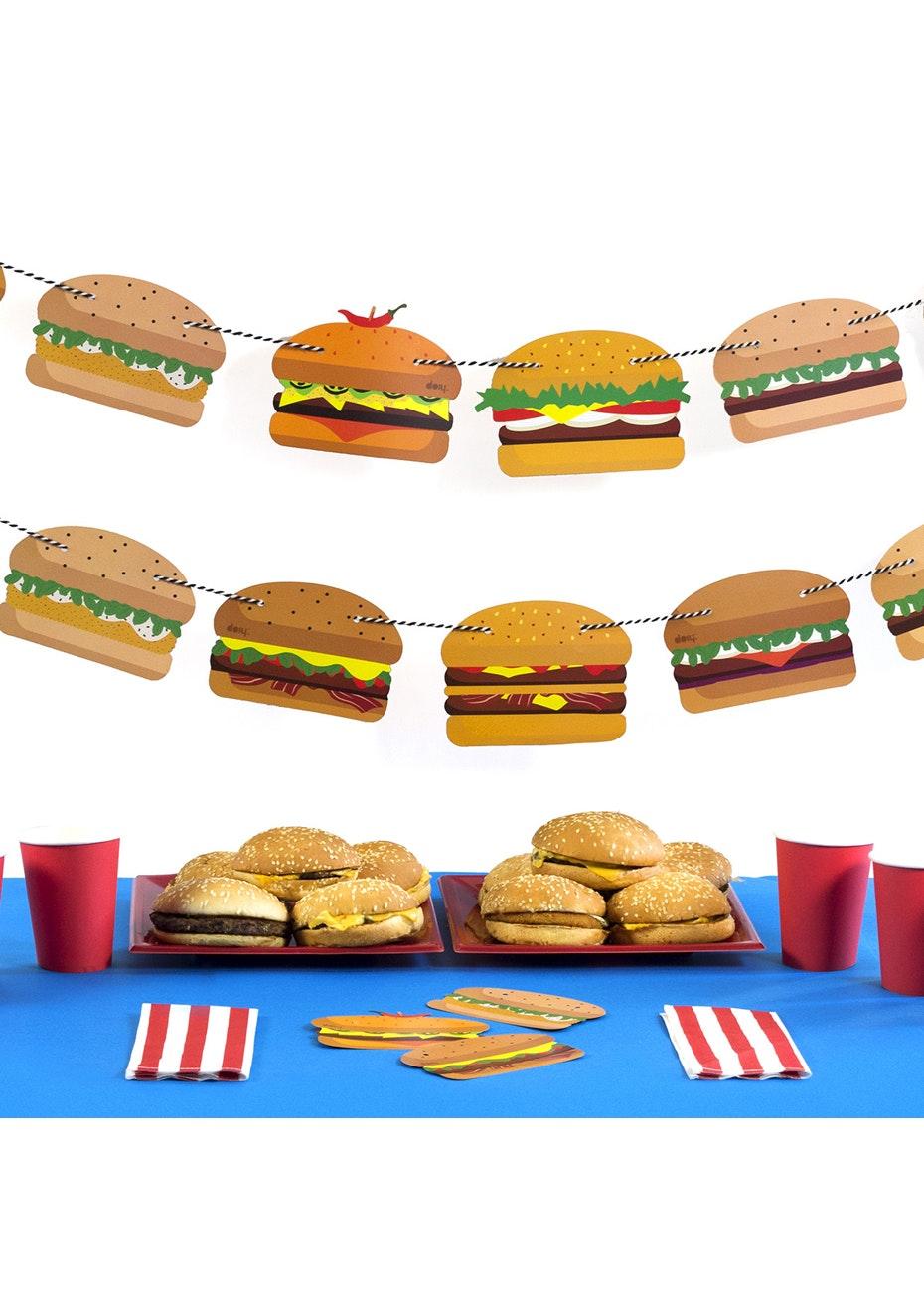 Doiy: Yummy Bunting - Burger
