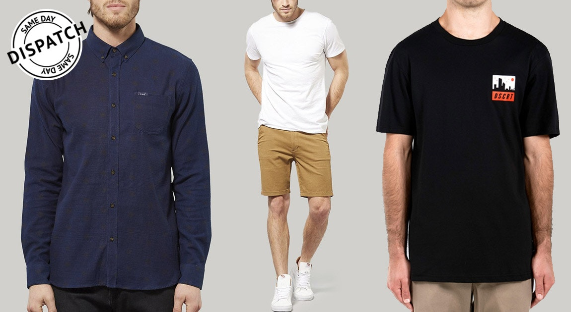 Mens Shirts, Tees & Pants