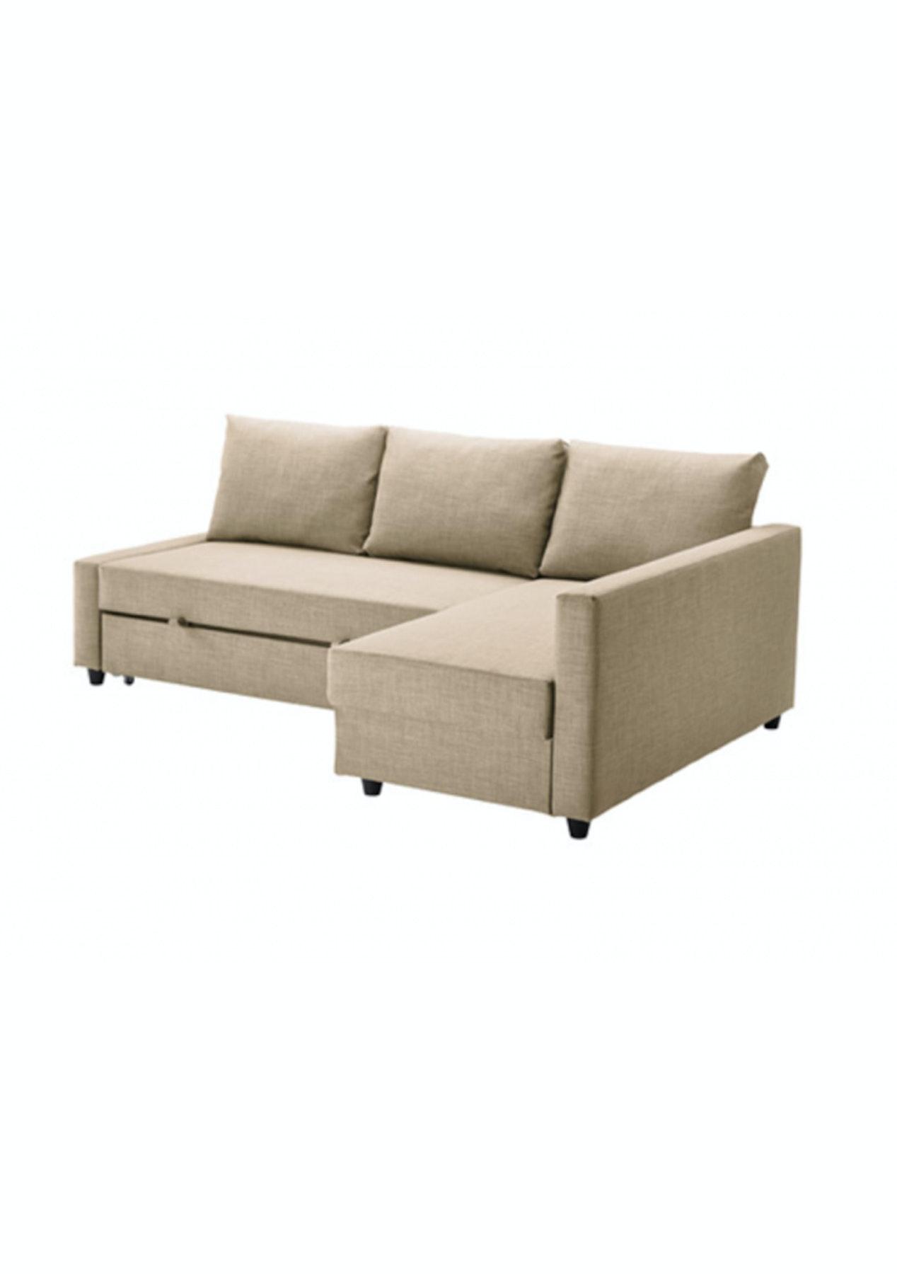 Sofa Friheten Ikea.Ikea Friheten Corner Sofa Bed With Storage Skiftebo Beige