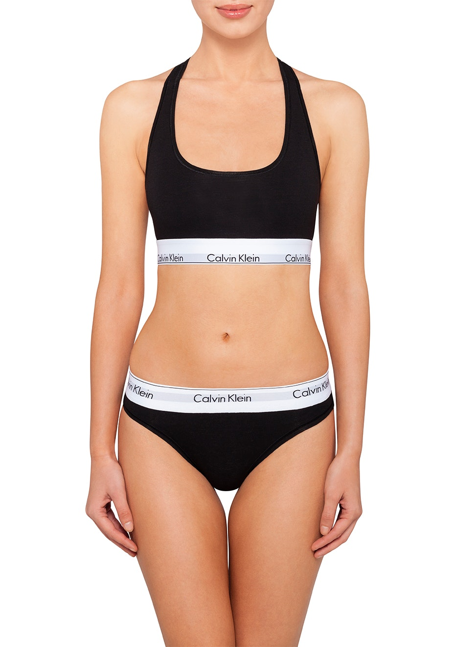 Calvin Klein  - Modern Cotton Bikini - Black