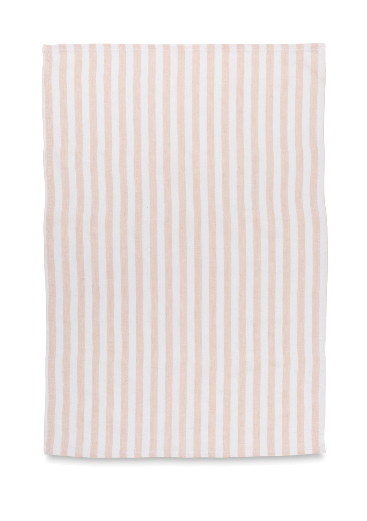 Citta design linen blend stripe tea towel cameo 50x70cm for Citta design outlet