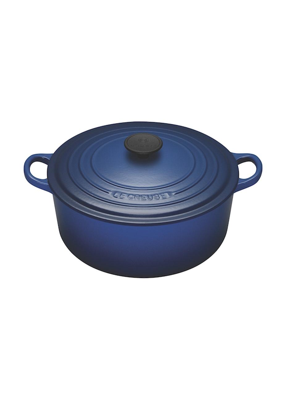 Le Creuset - Round Casserole 20cm Cobalt Blue