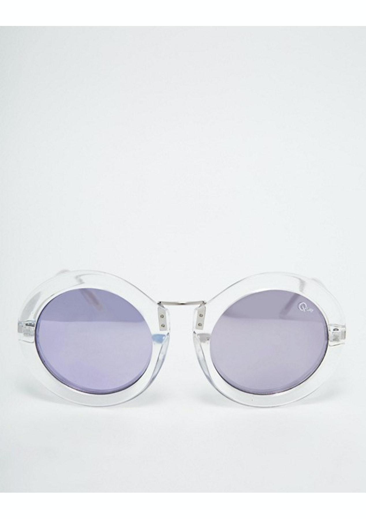 4a09da5e27 Quay Eyeware Life in Xanadu Sunglasses - Clear - Quay Australia Eyewear From   29.95 - Onceit