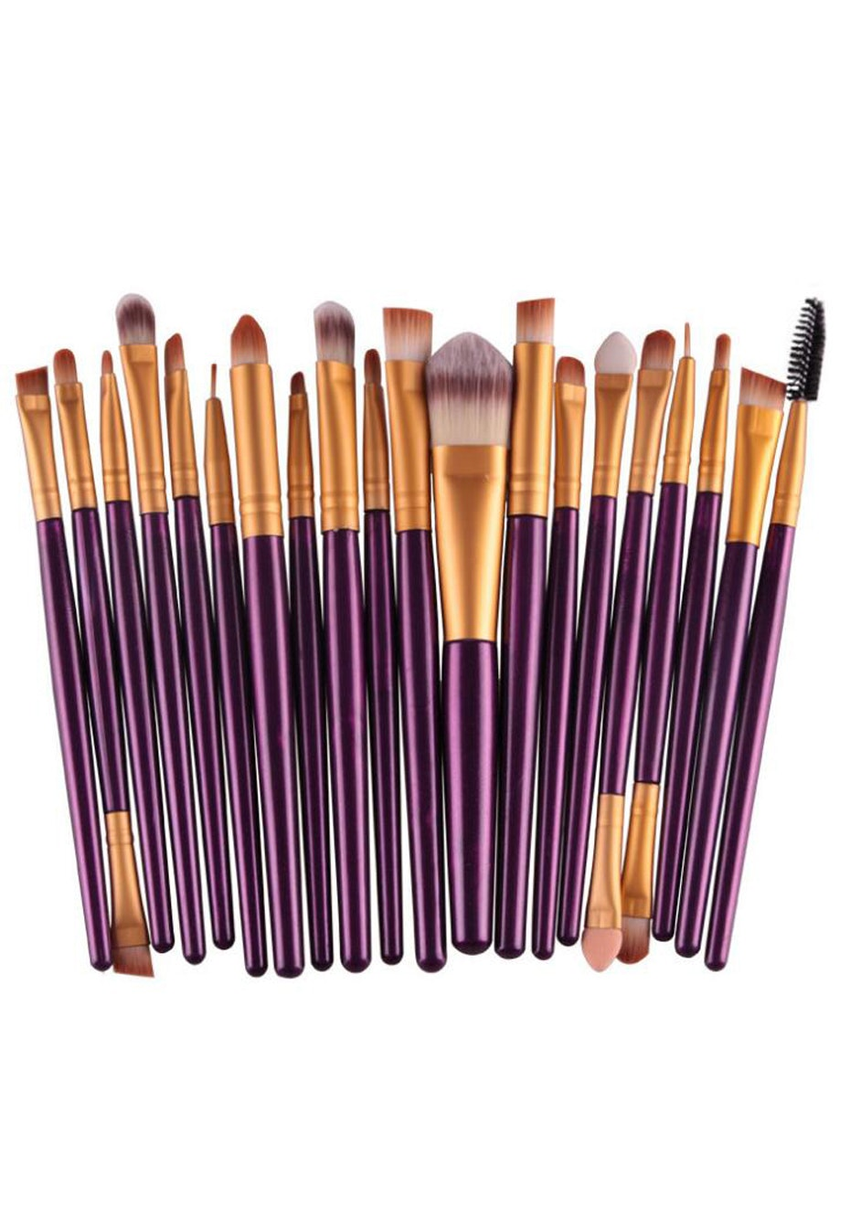 20pc Make up kit brush set