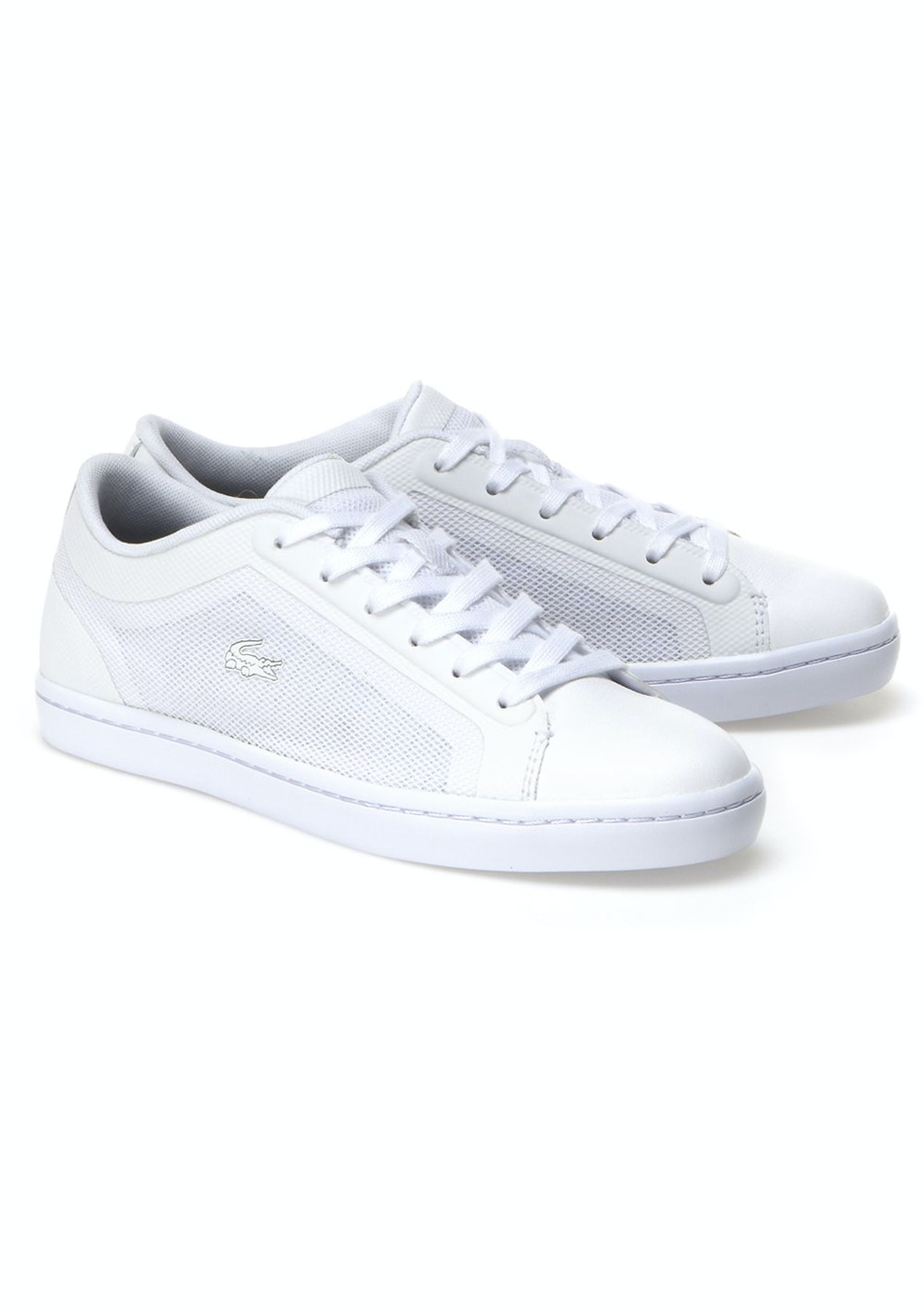 ec26968d446cd2 Womens Lacoste - Straightset 116 4 - White - Shoe Clearance - Onceit