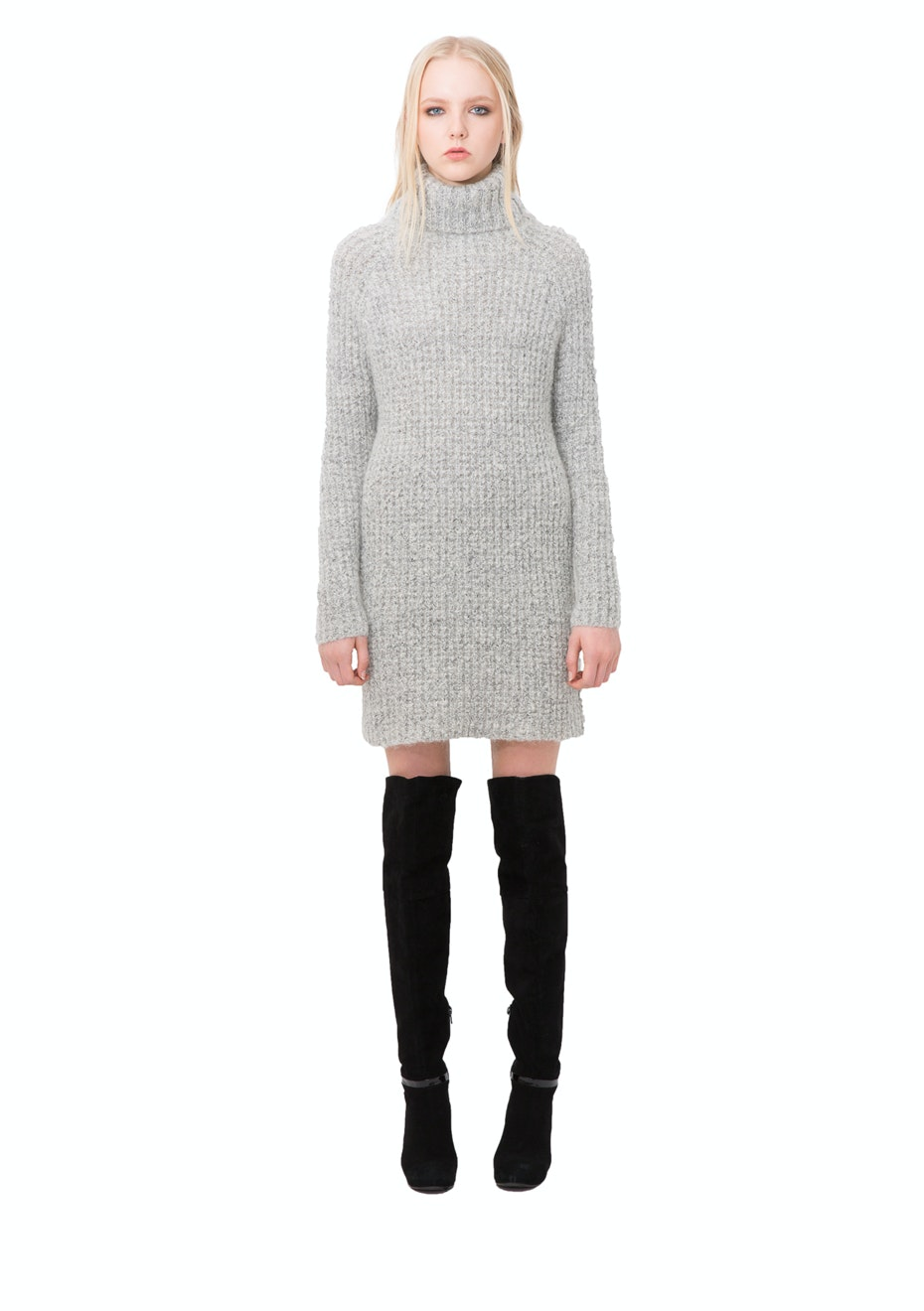 Stolen Girlfriends Club - Swamp Life Sweater Dress - Ivory