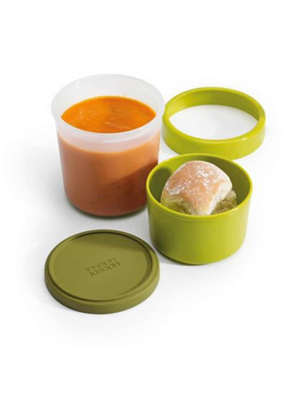 Joseph Joseph - GoEat Compact 2-in-1 soup pot - Green