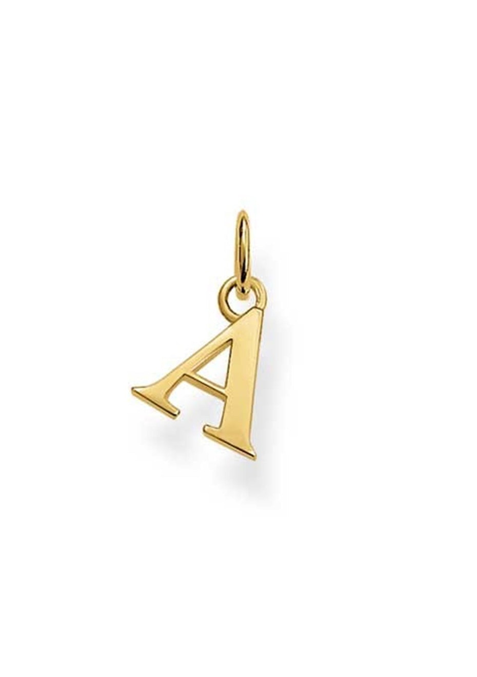 Thomas Sabo  - A' Pendant - Yellow Gold Plated
