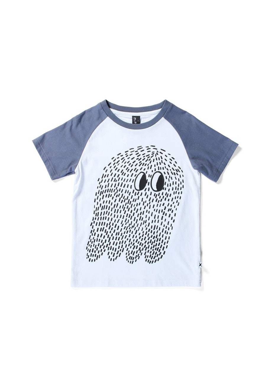 Minti - Skth Ghost - Raglan T - Boys - White/Midnight