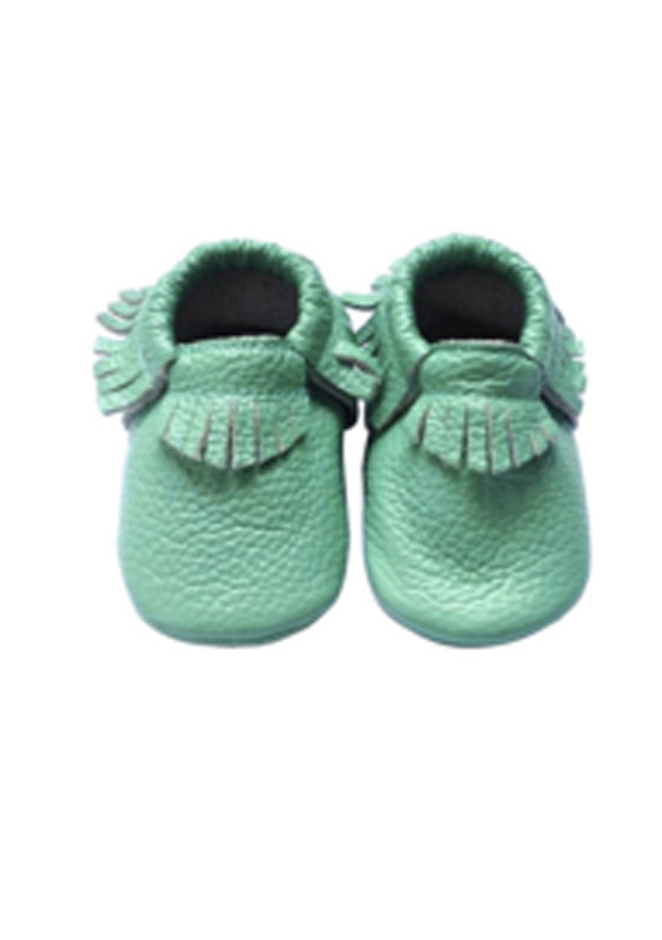 Baby  Leather Shoes - Teal