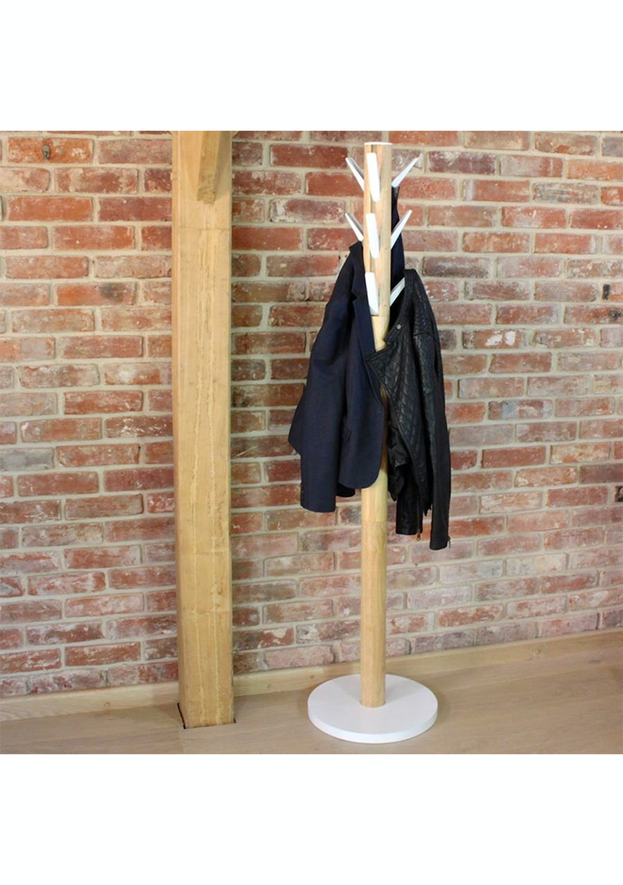 Umbra Flapper Coat Rack White Natural Umbra