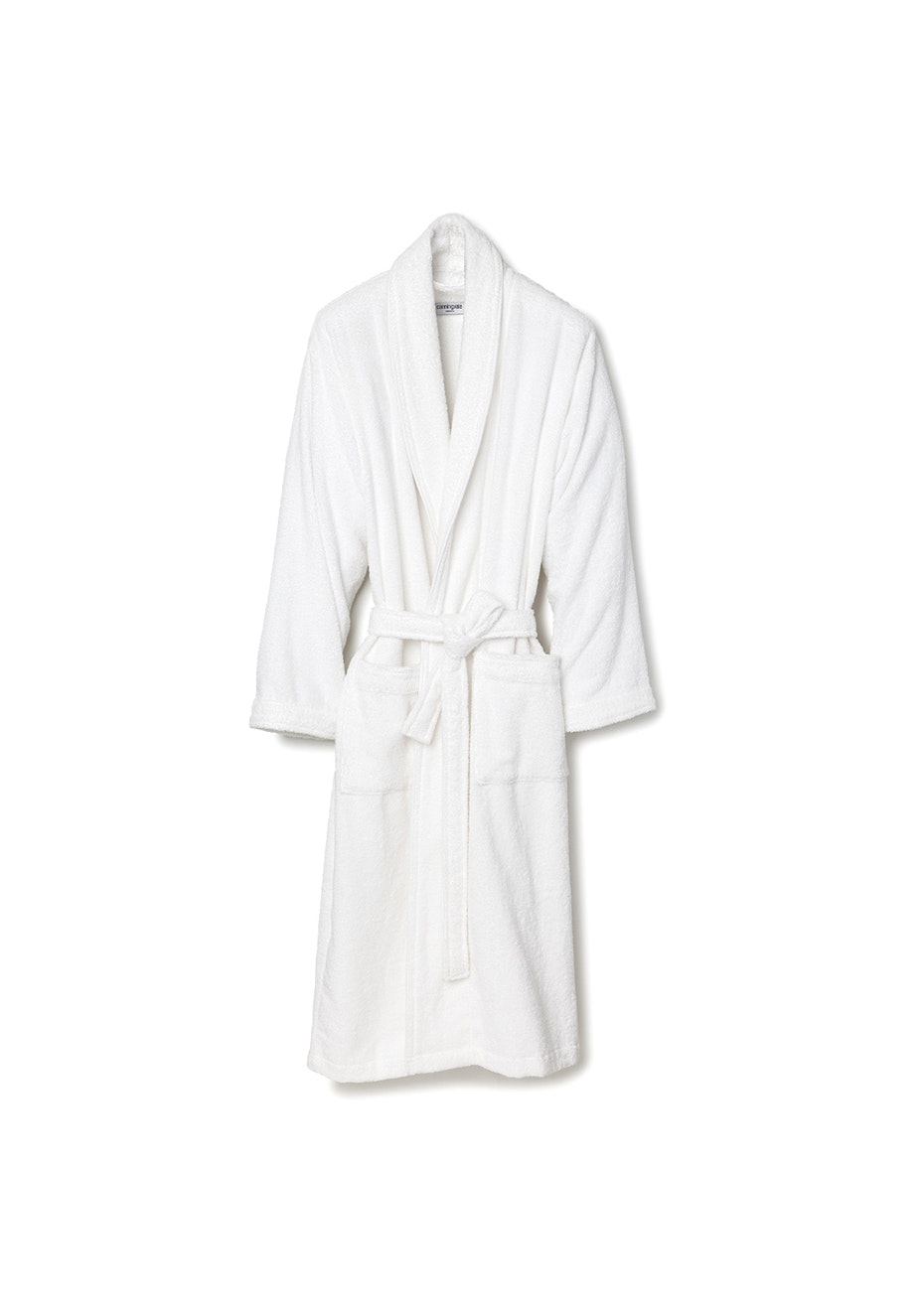 Canningvale - Medium Classic Cotton Terry Bathrobe - White