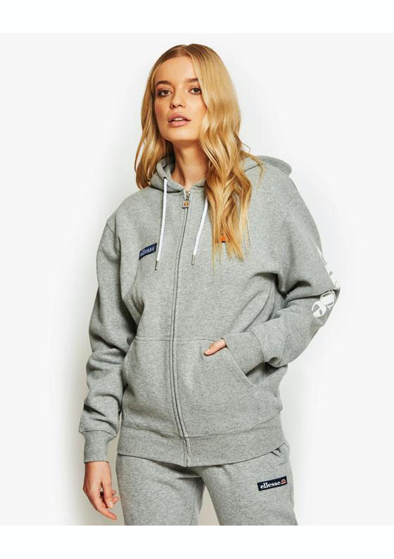 181e63b1c7 Ellesse - Serinatas Zip Hoody - Ath Grey