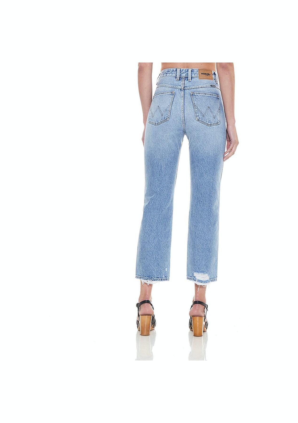 a2757c04aa Wrangler - Womens - Hi Birkin Jean - Strip Vintage - Wrangler   Lee ...