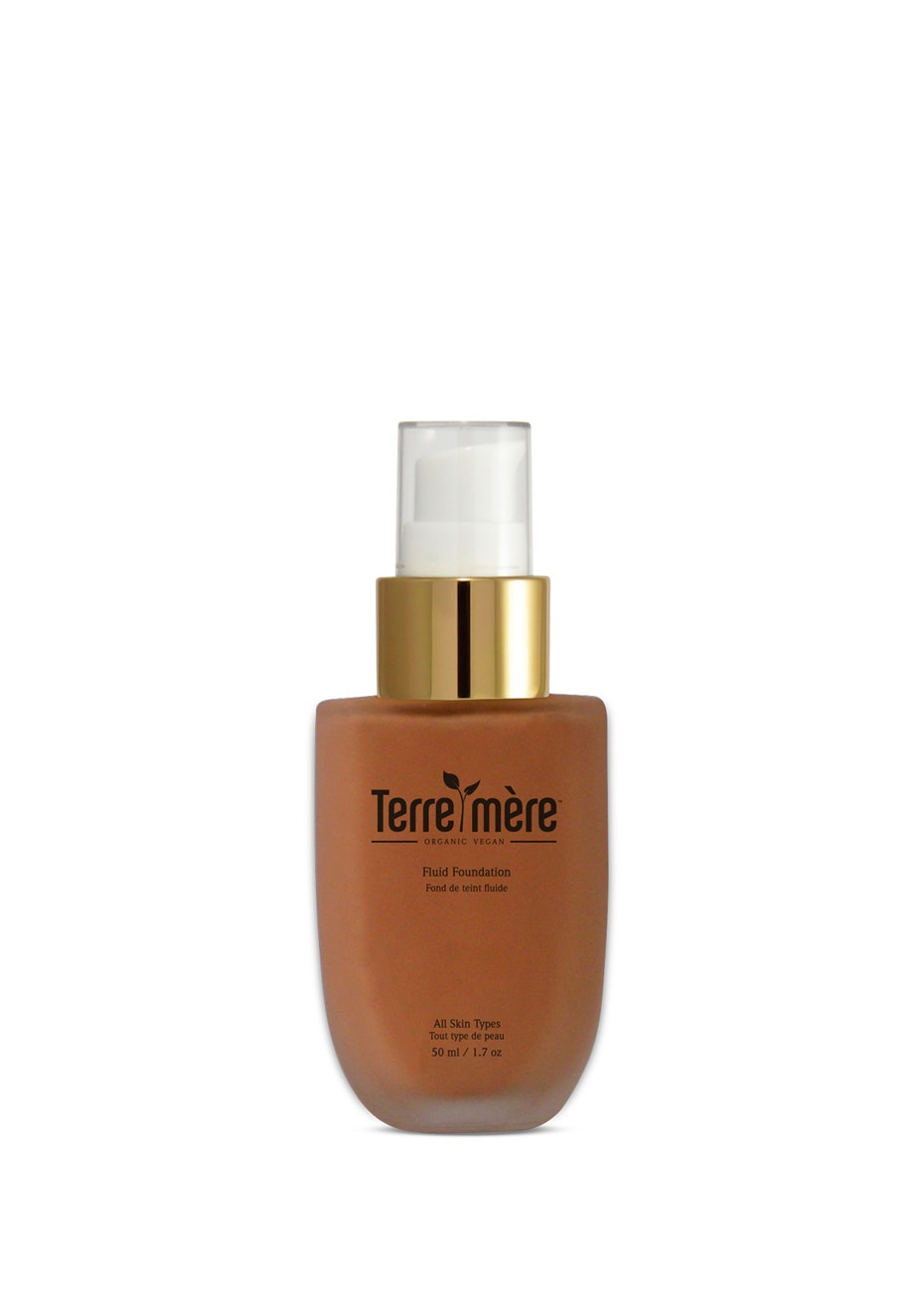 Terre Mere - Fluid Foundation - Toffee