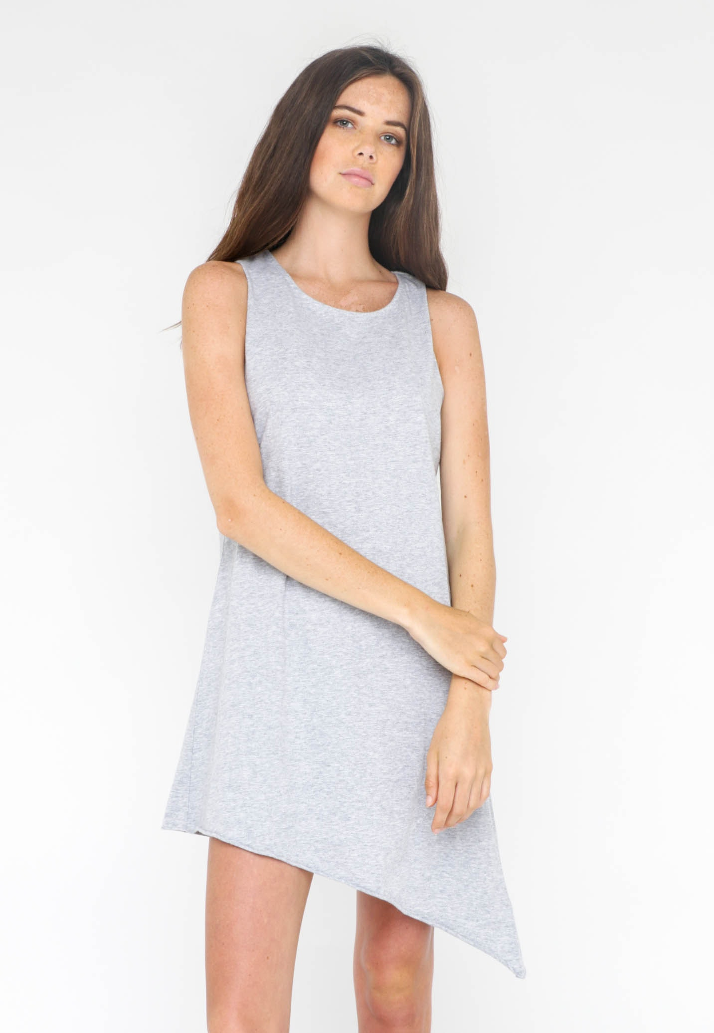 Silent Theory - Leo Mini Dress - Grey
