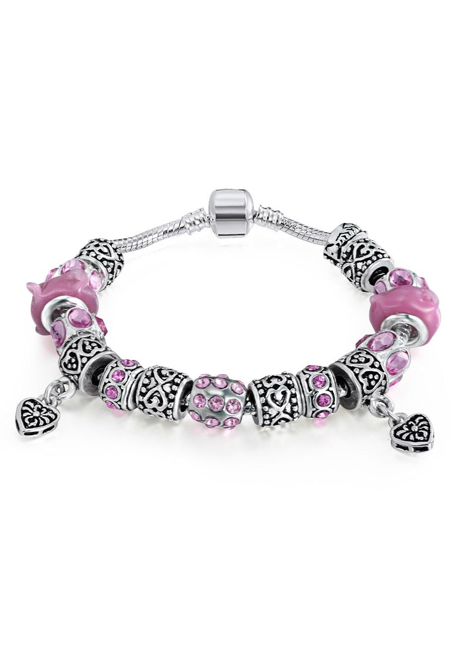 Lampwork designer bracelet