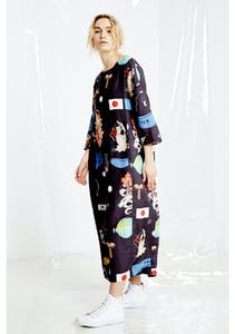 ac6216a475e86a Salasai - New Life Dress - Black Print