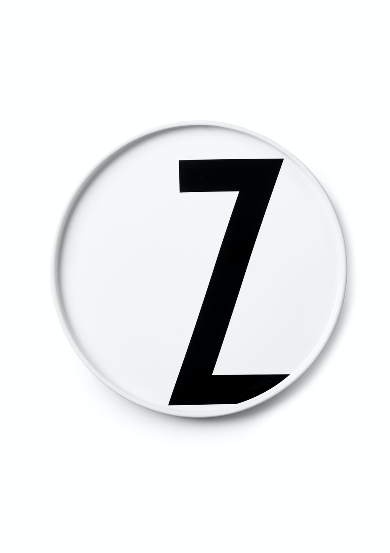 Design Letters Porcelain - Aj Porcelain Plates, Z